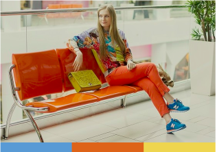 colorée : http://lookbook.nu/look/6457090-Choies-Printed-Sweatshirts-Reserved-Orange-Trousers